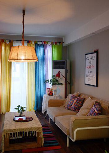 多彩创意东南亚客厅欣赏