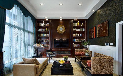 东南亚风格雅致客厅装修图片