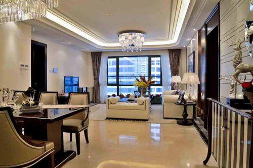 新古典主义风格客厅装潢设计