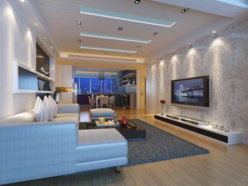 新古典客厅装修设计图