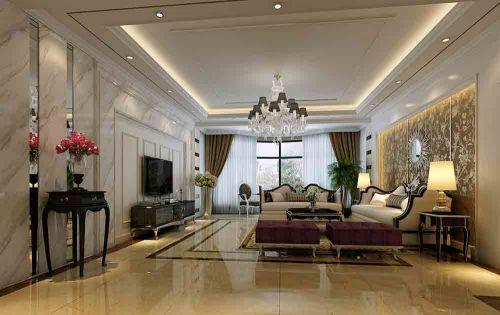 新古典大气客厅设计