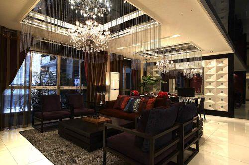 2016低奢新古典客厅设计