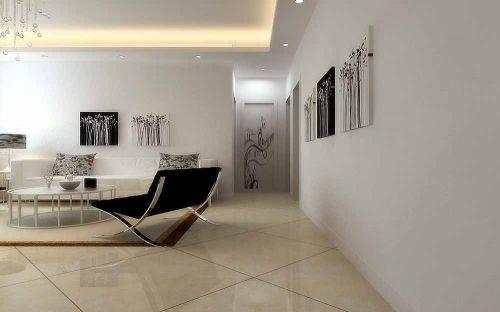 新古典简约风格客厅时尚装修效果图