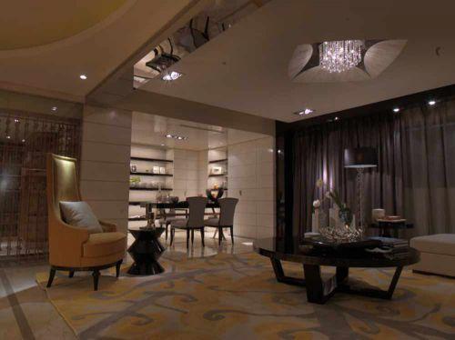 2016唯美新古典主义客厅装饰效果