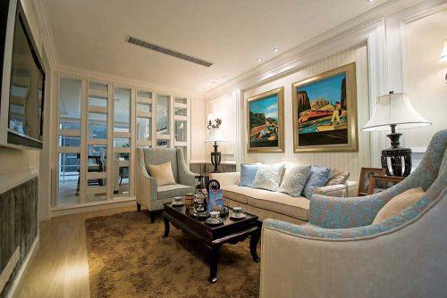 新古典风格雅致客厅装修效果图