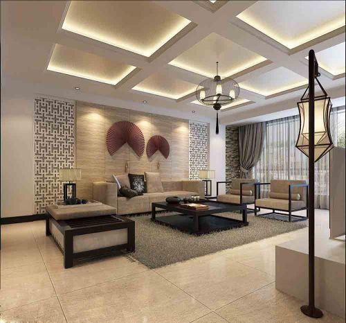 古雅中式客厅装修案例