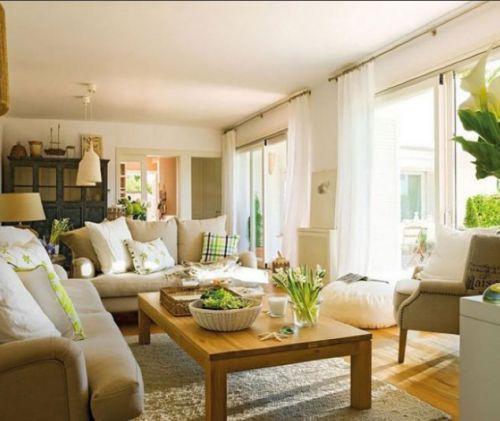 田园风格客厅装潢案例