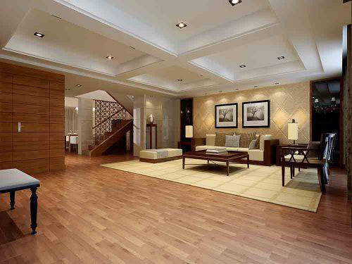 2018中式设计别墅客厅装修实例