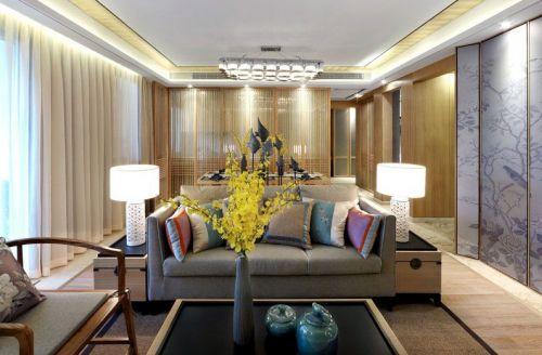 中式风格古韵雅致客厅装修图片赏析