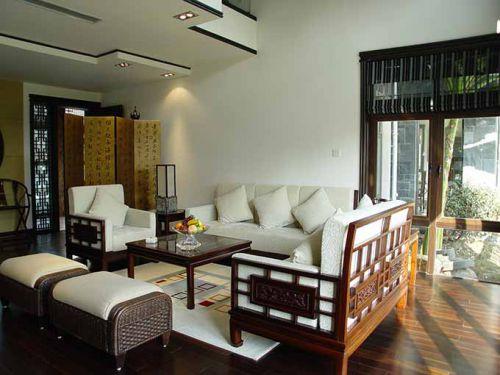 中式客厅轻简设计