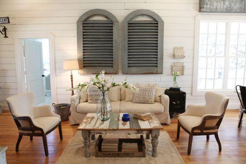 田园风素雅米色客厅装潢案例