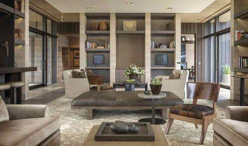 简化版中式客厅自然个性装修