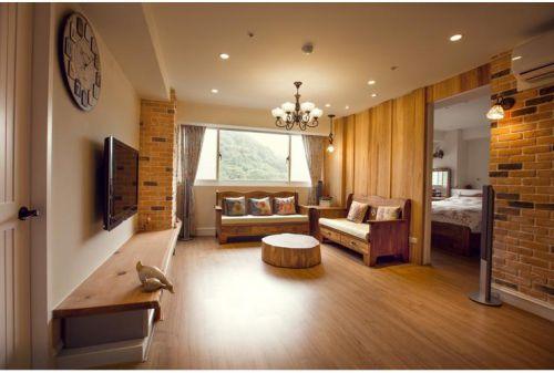 休闲质朴田园风格客厅图片赏析