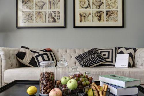 极简田园客厅装饰效果图