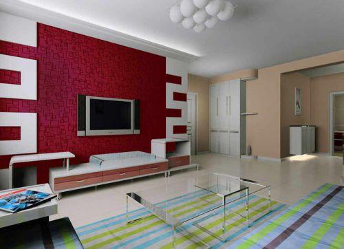 个性摩登现代风格客厅室内设计