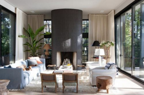 现代客厅装修美图赏析