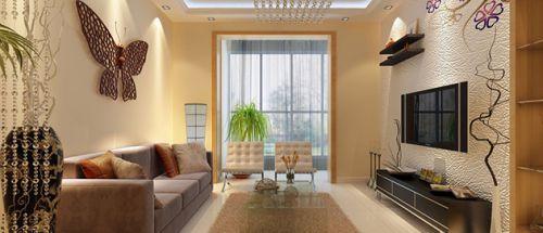 现代清新客厅装修效果图赏析