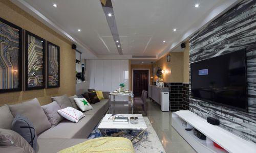 2016现代时尚客厅装潢设计