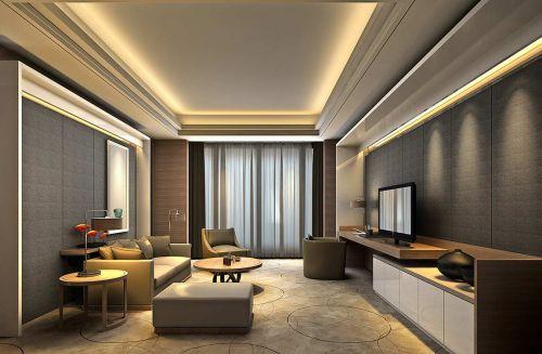 现代简洁时尚客厅设计欣赏