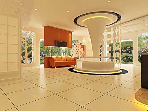 个性简洁现代风格客厅装修展示
