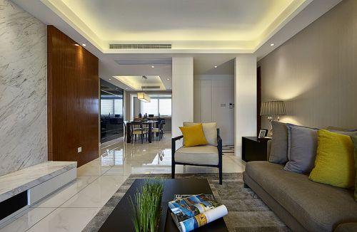 现代风格个性灰色客厅装修赏析