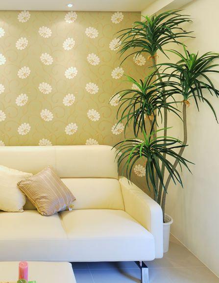 温馨现代风格客厅局部装潢案例