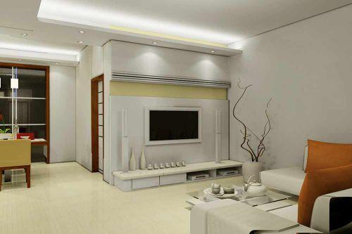 清爽时尚现代风格客厅装潢