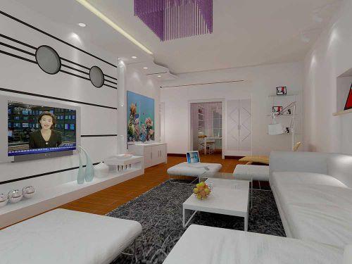 现代时尚创意客厅设计