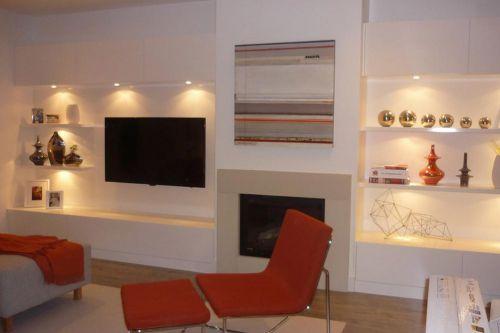 现代时尚都市客厅装修效果图