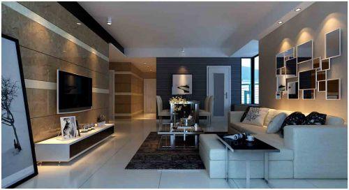 现代客厅装修设计