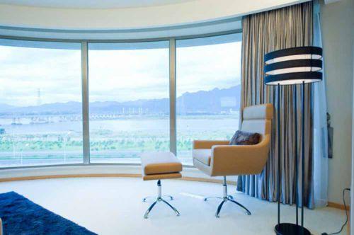 2016时尚大方现代风格客厅局部设计效果图