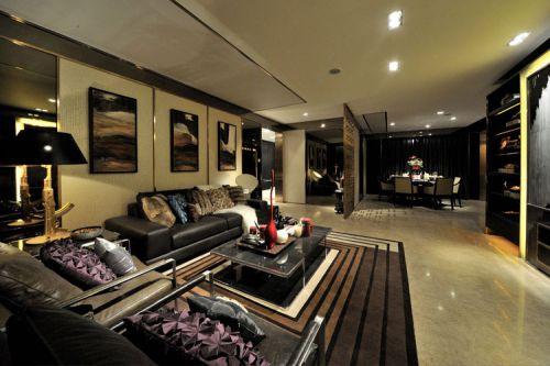 现代时尚客厅装饰设计图片