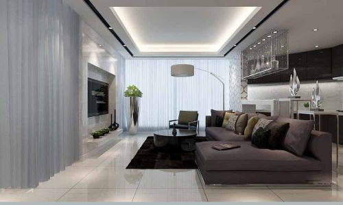 2016大气现代风格客厅装修布置