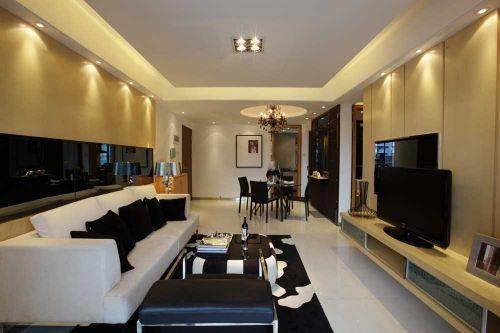 时尚现代风格客厅装潢