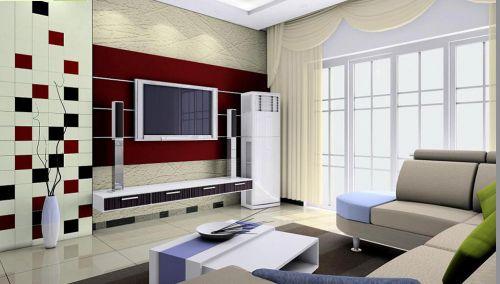 设计感现代风格客厅装潢美图