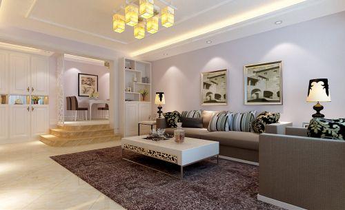 现代简洁客厅设计装潢