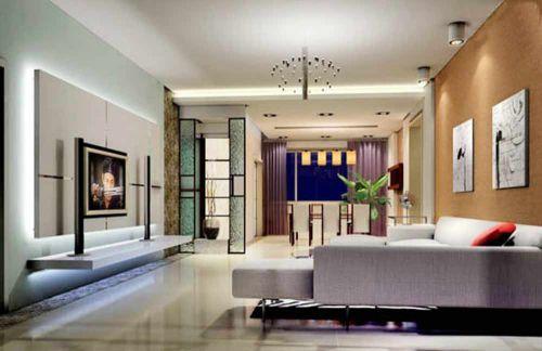 多元素现代风格客厅设计欣赏
