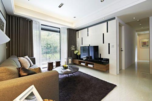 现代风格客厅装修美图欣赏