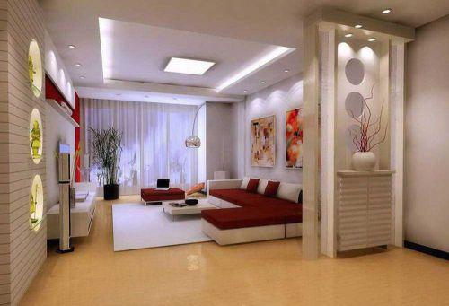 唯美浪漫现代风格客厅设计