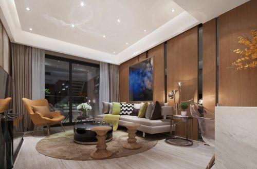 2016现代风格摩登个性时尚客厅装潢