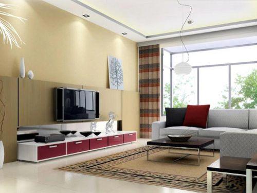 温婉大气现代风格客厅设计图