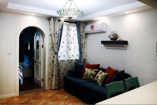 雅致休闲现代客厅设计案例