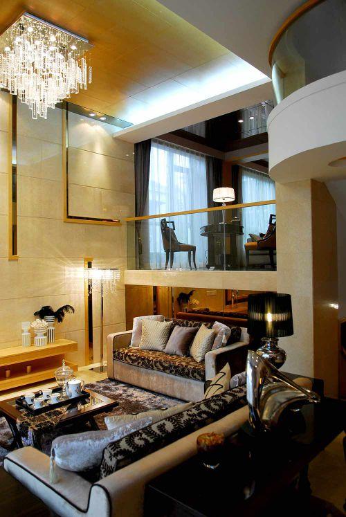 2016高端品味现代设计客厅装饰布置