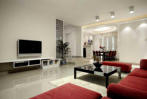 致简现代风格客厅装修实例精选