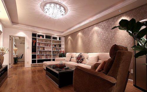 现代风格客厅设计装潢2016