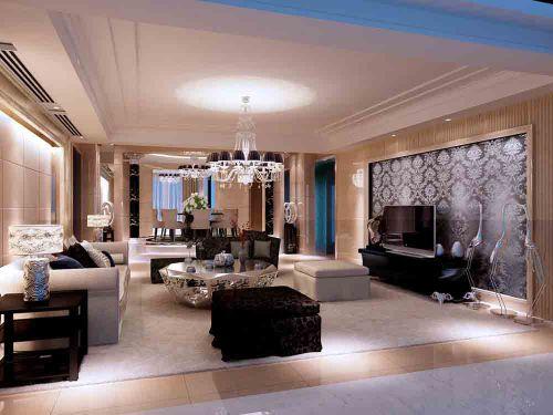 现代风格室内客厅设计图片