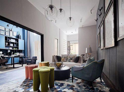 摩登现代感客厅设计