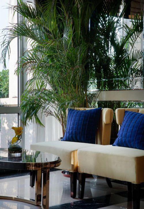 现代清爽设计客厅局部效果图片