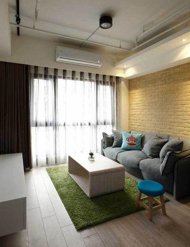 2016现代简约风格客厅装修效果图