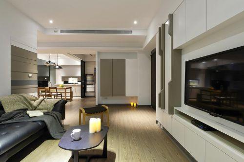 2016极简现代客厅装修案例